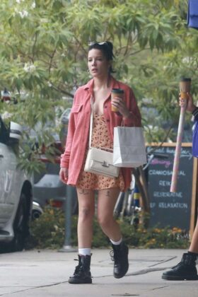 Halsey – Shopping with a friend in Studio City