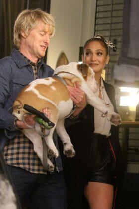 Jennifer Lopez and Owen Wilson – Filming 'Marry Me' set in Brooklyn