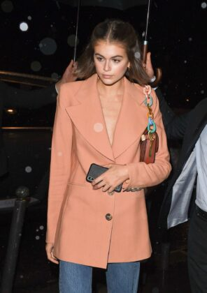 Kaia Gerber – Vogue Forces of Fashion at Spring Studio in NY