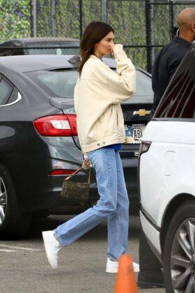 Kendall Jenner – Leaving Kanye West's Sunday Service in Inglewood