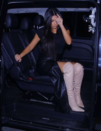 Kim Kardashian – Heads out of her hotel in Yerevan