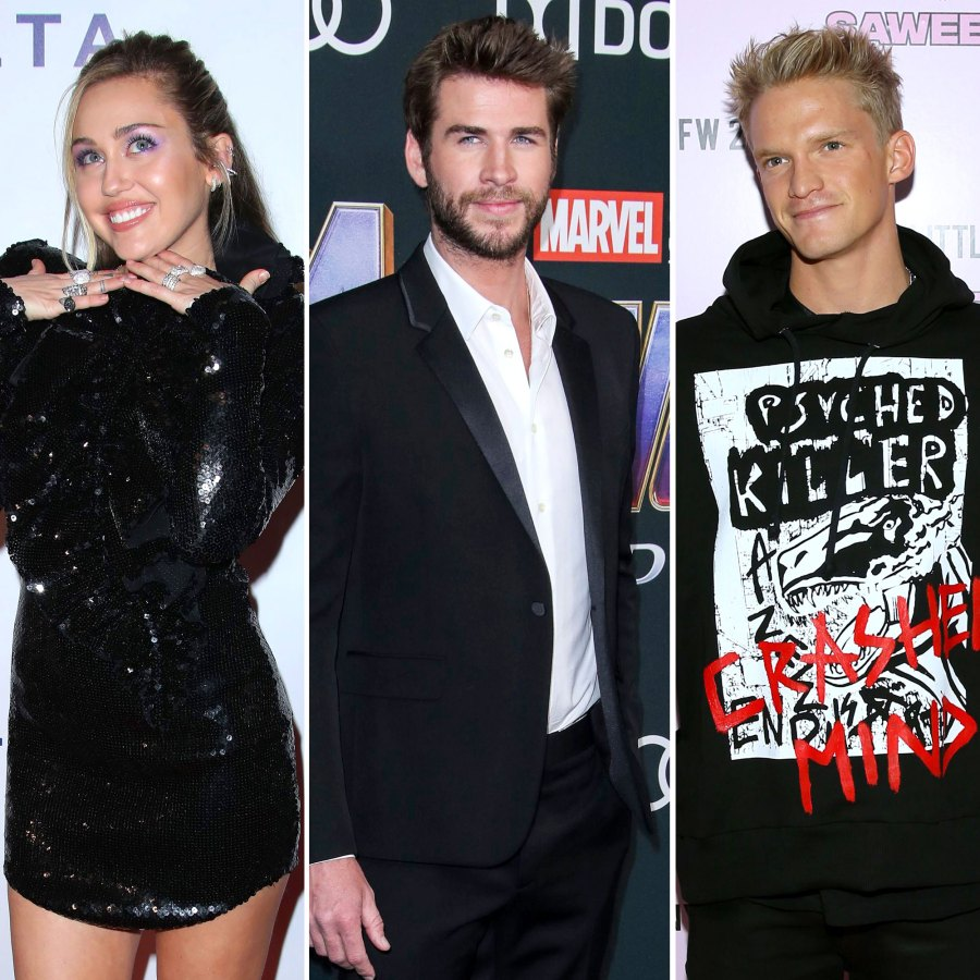 Miley Cyrus Throws Shade at Liam and Other Exes With Cody Simpson's Help
