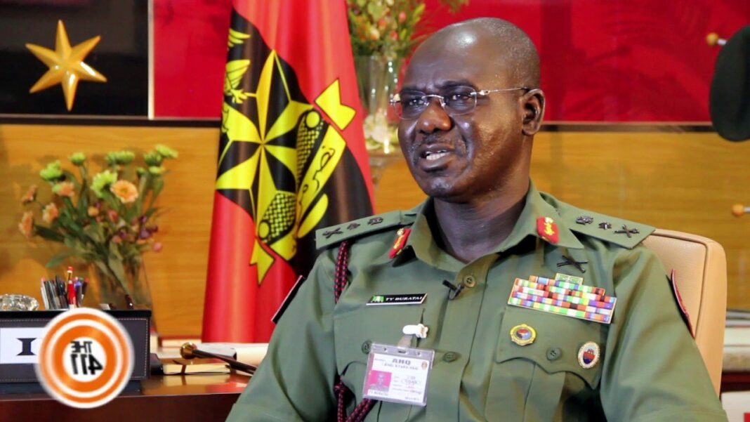 Nigeria news : Buratai orders hostile positions versus outlaws, crooks, harps on civils rights
