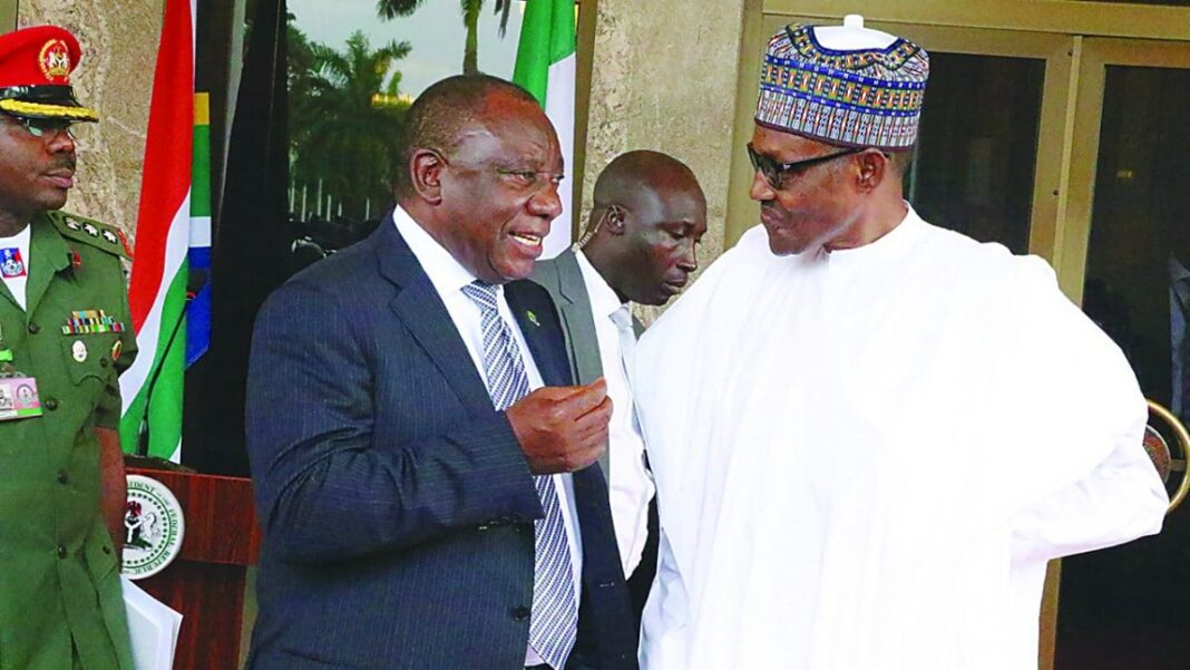 Nigeria news : Xenophobia How Nigeria worked for South Africa's freedom – Ramaphosa tells Buhari