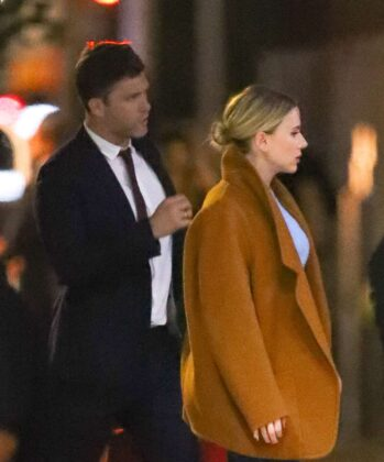 Scarlett Johansson and Colin Jost – Out and about in New York