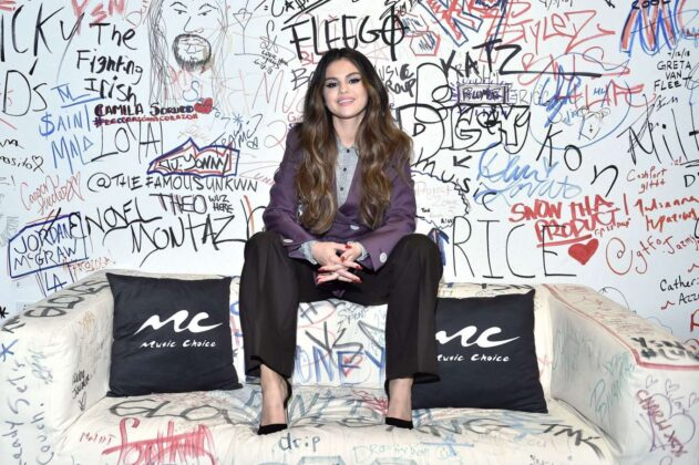 Selena Gomez – Visits Music Choice in NY
