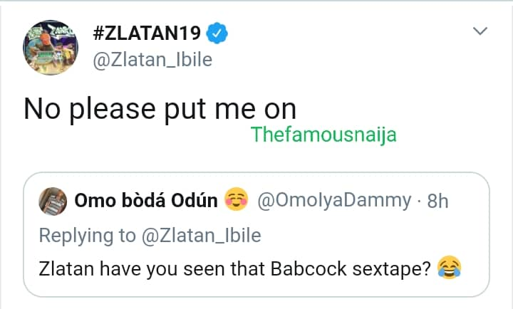 Zlatan Ibile Reacts To Leaked Video