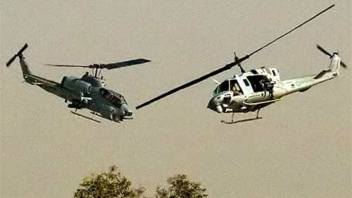 13 Soldiers Killed As Two Helicopters Collide During Operation