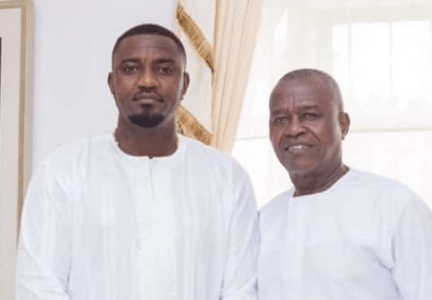 Actor, John Dumelo Celebrates His Dad On His 70th Birthday (See Photo)