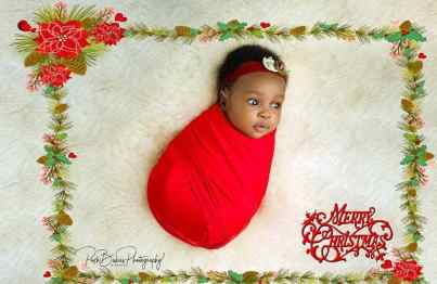 Actress Ruth Kadiri Celebrates Her Daughter With Adorable Pictures As She Turns 3 Months Today (Photos)