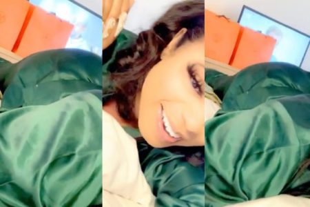 Again, Bobrisky Shows Off His or Her New Massive B.utt As He T.werks Heavily While On Bed (Watch Video)
