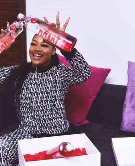 #BBNaija: Tacha Signs Endorsement Deal With Ciroc Vodka
