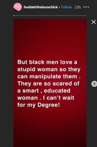 Black Men Love Stupid Women – Huddah Monroe