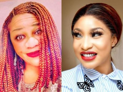 Blogger, Stella Dimokokorkus And Tonto Dikeh Again Drags Each Other On Instagram