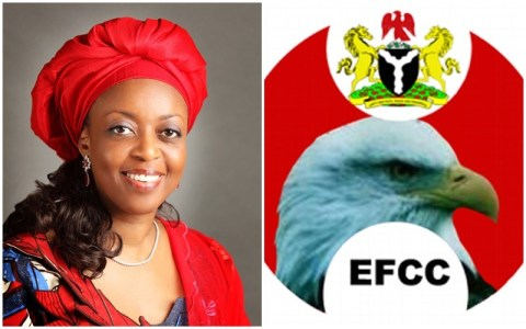 EFCC Allegedly Withdraws $153 Million Charges Against Diezani