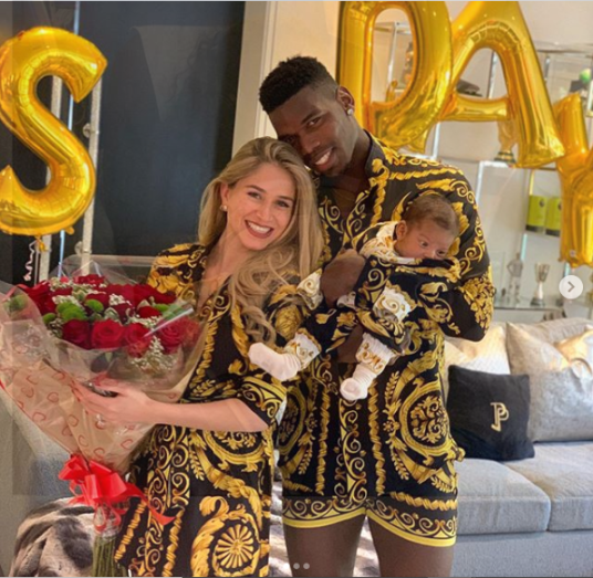 Footballer, Paul Pogba Shows Off His Son's Face For The First Time (See Photos)