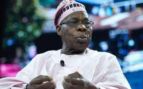 Former President Obasanjo Finally Reacts To Closing Of Borders By Buhari's Government