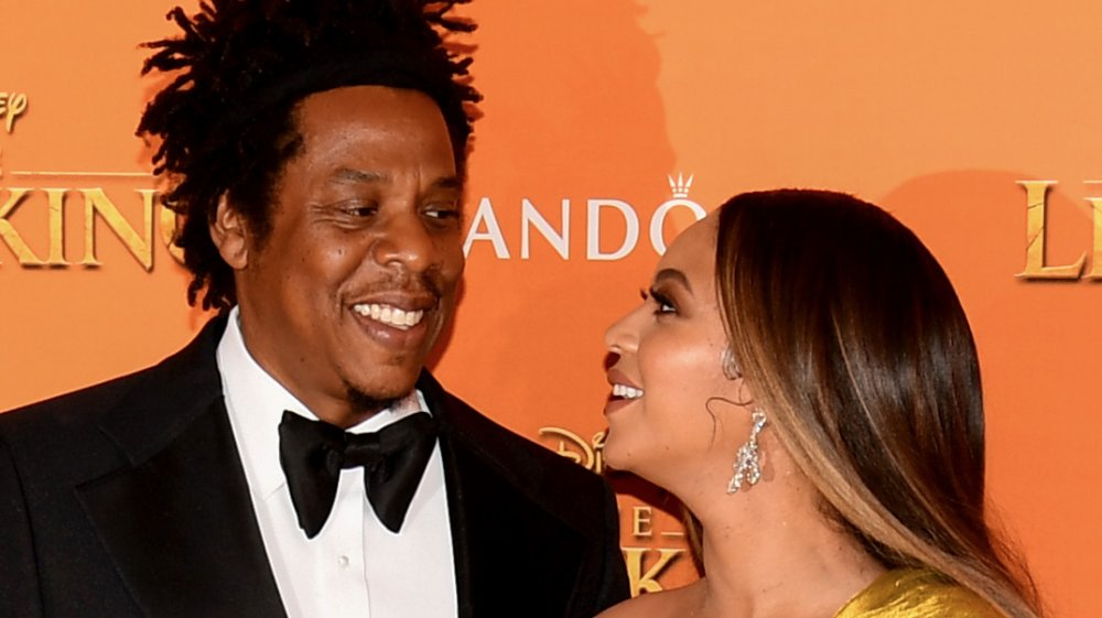 How much were Beyonce and Jay-Z worth when they met?