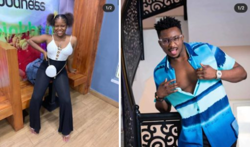 """""""I Had To Go Home With A Piece Of Your Cloth"""" – Lady Who Tore Sir Dee's Cloth Speaks (Watch Video)"""