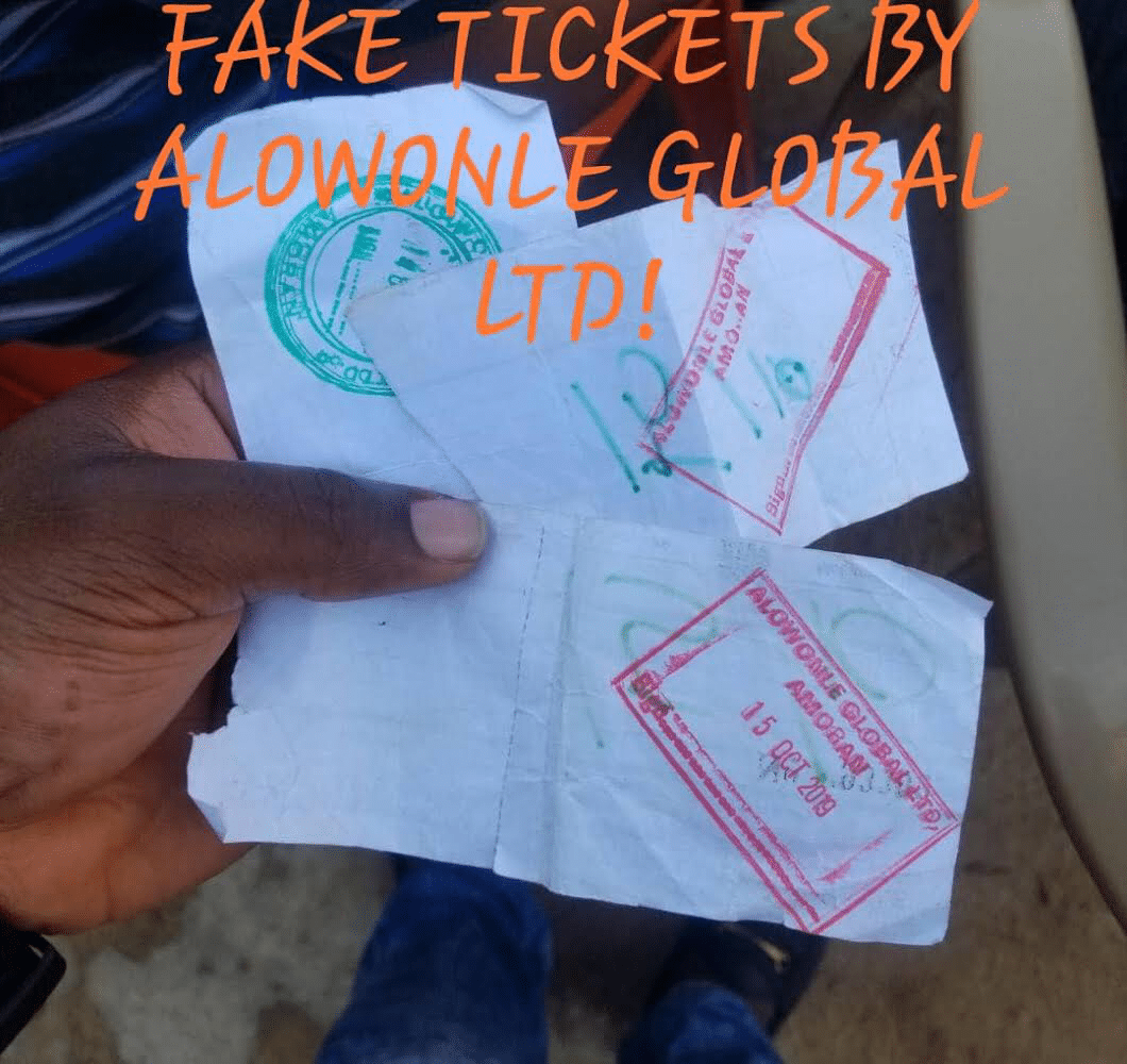 Nigeria news : Ogun's transport committee faces corruption allegations as video of fake govt tickets goes viral