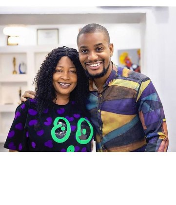 Nollywood Star, Alex Ekubo Shares Cute Photos Of His Mom and dad