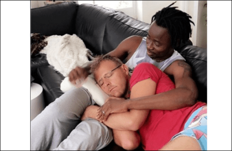 Popular Nigerian Gay Rights Activist, Bisi Alimi And His Husband Mark 3rd Wedding Anniversary