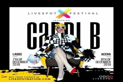 Queen Of Hip Hop, Cardi B Is Set To Visit Nigeria And Ghana In December