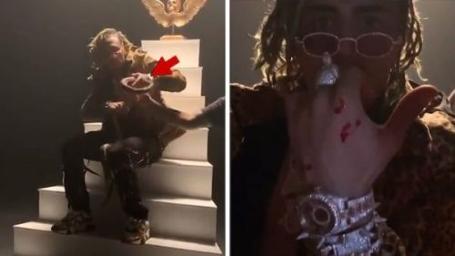 Rapper Lil Pump Got Bitten By A Snake During Music Video Shoot (Watch Video)