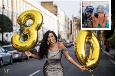 """The Best Gifts In My Life, I Treasure You"" – Gedoni Celebrates His Girlfriend, Khafi As She Turns 30 Today"