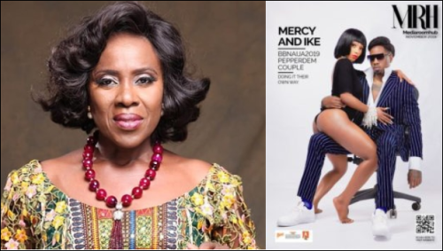 Veteran Actress, Joke Silva Reacts Angrily To Mercy And Ike's Viral Picture