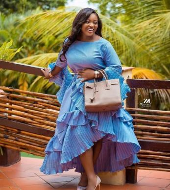 Wedding Photos Of A Lady That Looks 'Exactly Like' Actress Jackie Appiah Goes Viral Online
