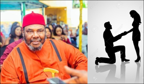 Why It Is Wrong For A Man To Kneel Down And Propose To His Lover – Veteran Actor, Pete Edochie