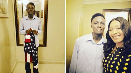 """You Look Hungry"" – Tacha Fans Blast Kemi Olunloyo's Son On Twitter"