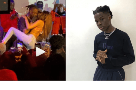 """You Will Get Pregnant"" – OAP Toolz Reacts To Video Of Rema's Er0tic Dance With A Girl On Stage ( Watch Video)"