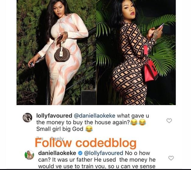 """""""It Was Your Father, He Used The Money Meant To Train You To Buy My House"""" – Daniella Okeke Blasts Troll"""
