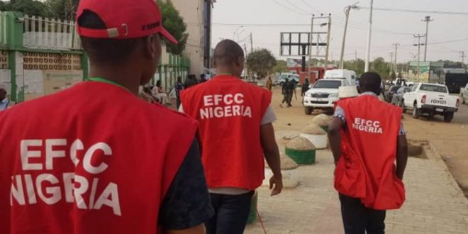 EFCC Arrests Man For Defrauding Victim By Pretending To Be A Lady And A L3sbian On Faceb00k