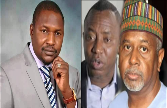 Breaking: Attorney-general Of The Federation, Malami Orders DSS To Release Dasuki, Sowore