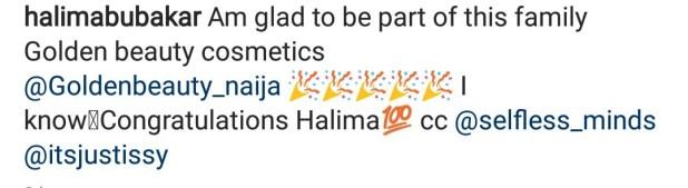 Actress, Halima Abubakar Becomes A Brand Ambassador Of Golden Beauty Cosmetics