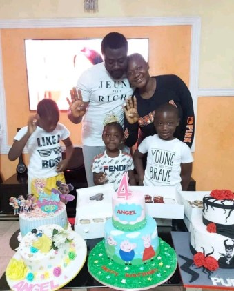 Actress Mercy Johnson Celebrates Daughter, Angel As She Turns 4 (Photos)