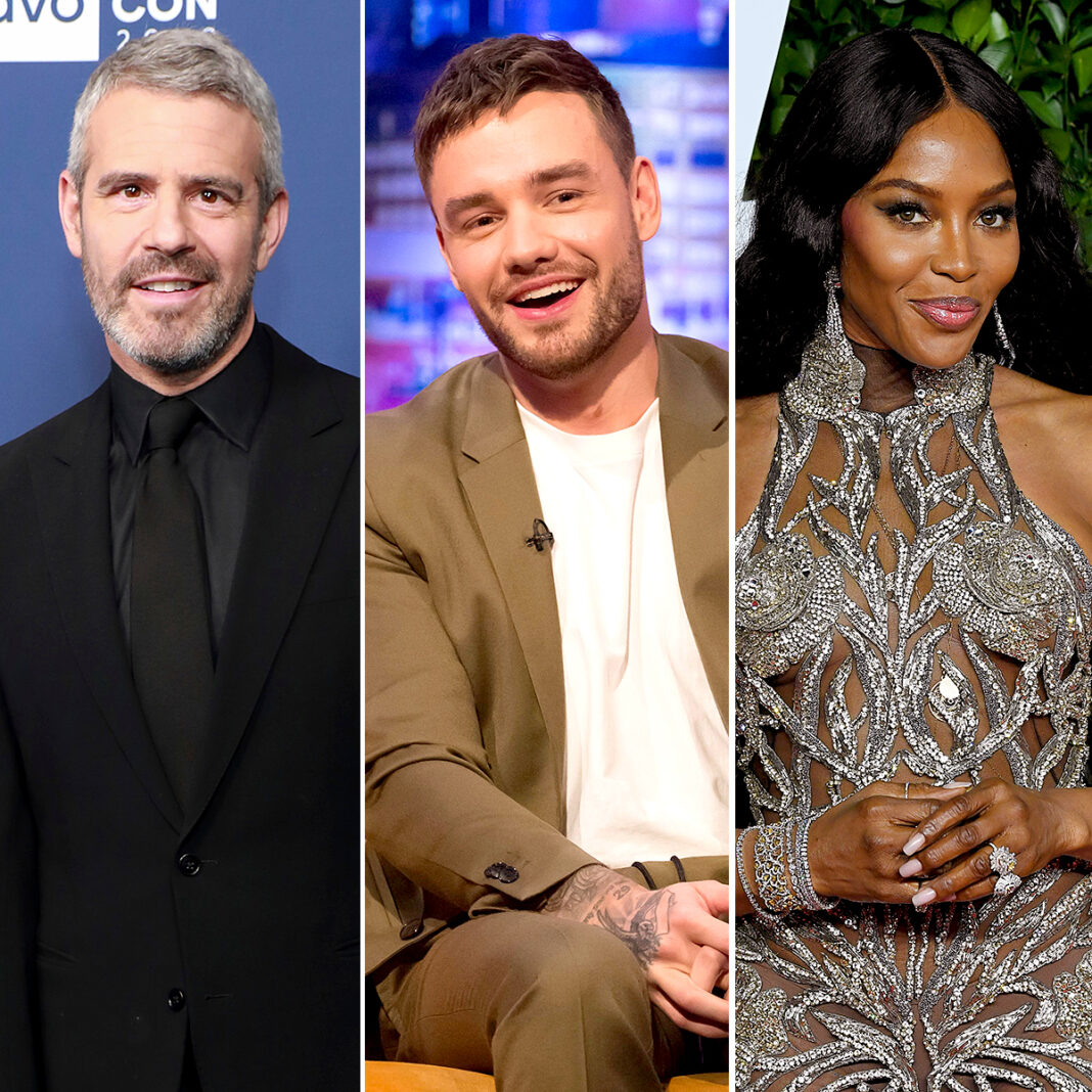 Andy Cohen Grills Liam Payne About Those Naomi Campbell Rumors