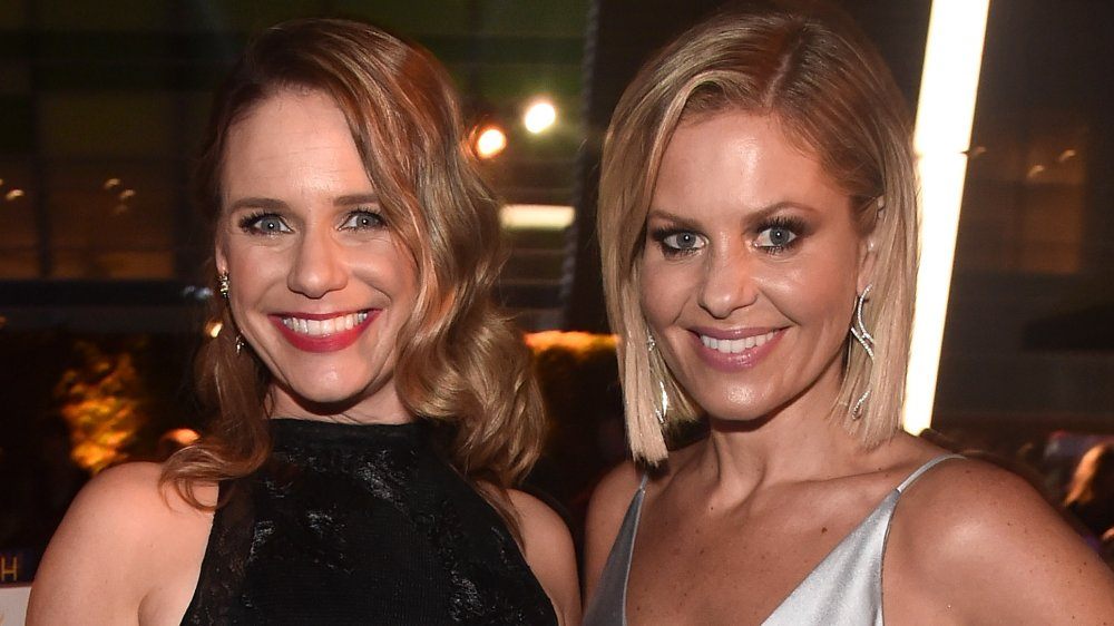 Are Candace Cameron Bure and Andrea Barber friends in real life?