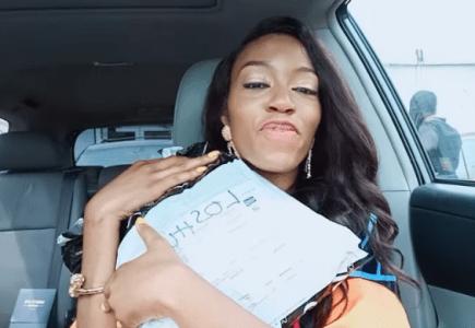 #BBNaija: Khafi Gets A Surprise Package From Her Friend, Tacha (Watch Video)