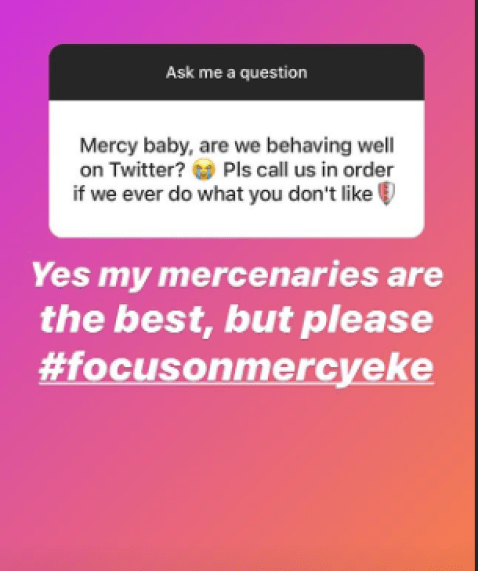 #BBNaija: Mercy Reveals She's Going Home For Xmas, Says She Has Missed Her Family