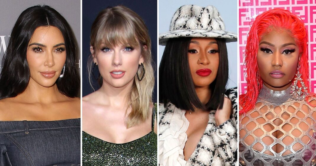 Biggest Celebrity Feuds of the 2010s: Taylor vs. Kim, Cardi B vs. Nicki