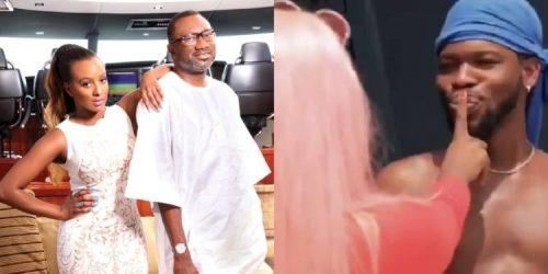 Billionaire Femi Otedola Reveals The Man He Wants DJ Cuppy To Marry After She Kissed Broda Shaggi (Photo)