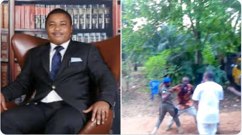 Breaking: 4 People Feared Dead As Police Invade Nnamdi Kanu's Lawyer's Home