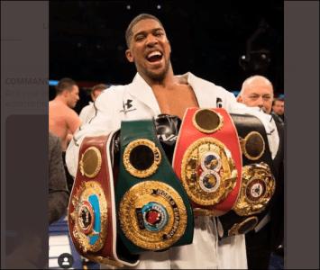 Breaking News: Anthony Joshua Beats Ruiz To Reclaim Heavyweight World Titles