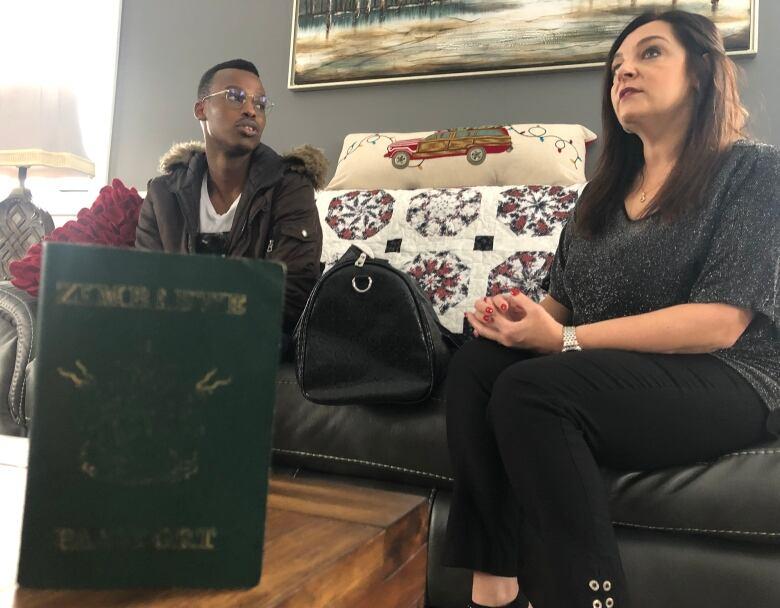 'Christmas miracle': Zimbabwe student's lost passport, visas found