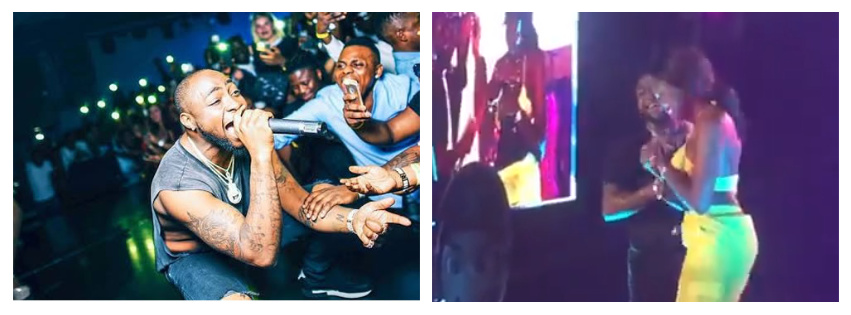 Davido Gifts Lady N1 Million On Stage (Video)