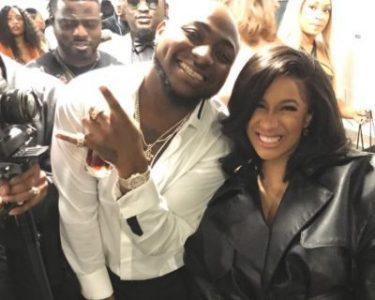 Davido Welcomes American Rapper, Cardi B On Her Arrival To Nigeria